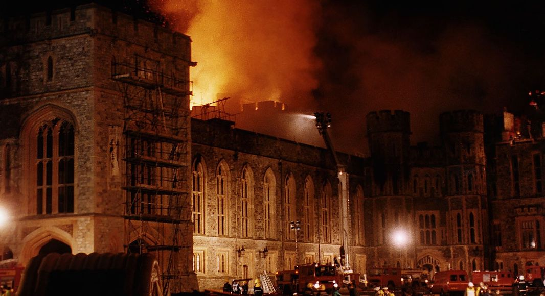 Chateau Windsor incendie 1992