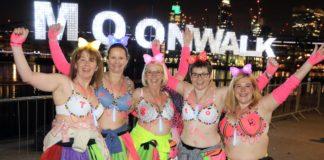 22eme edition de MoonWalk marathon lutte cancer sein