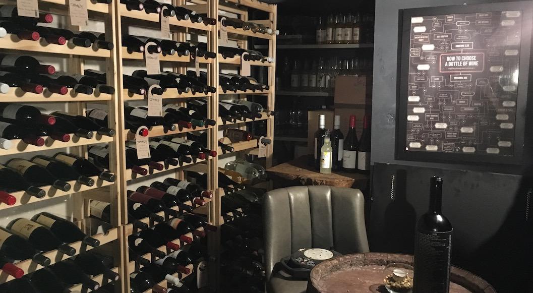 Le Cellar cave a vin