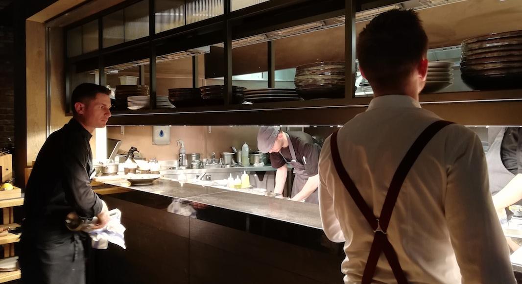 Guillaume Gillan, chef du restaurant Bokan nous regale au 37eme etage