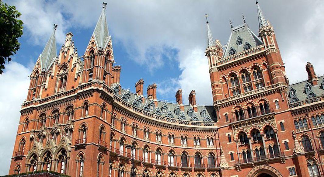 Edifices Londres St Pancras