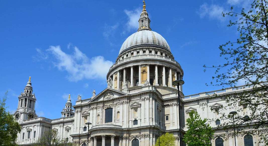 Edifices Londres Cathedrale St Paul