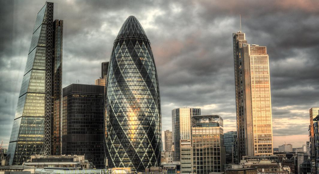 Edifices Londres The Gherkin