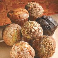 Fresh Bake Shop Assorted Puffin Muffins, Large, Single, 1 Each