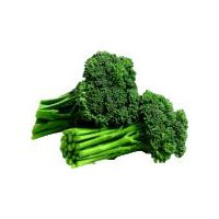 Broccolini, cross variety that provides a crunchy and flavorful bite.