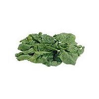 Crinkly, curly leave spinach that has a crisp texture and slightly bitter flavor, great for cooking.