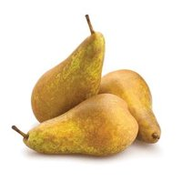 Russeting Cinnamon Brown colored pear with a sweeter and more flavorful taste than other varieties.