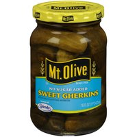mt. olive pickles - sweet gherkins no sugar added