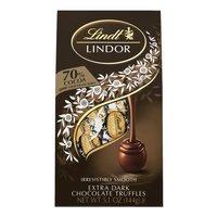 Lindt 70% Cocoa Dark Chocolate Truffles - Lindor, 5.1 Ounce