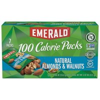 Emerald Natural Almonds and Walnuts – 100 Calorie Packs, 3.92 Ounce