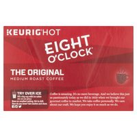 Eight O'Clock Coffee Eight O'Clock Coffee The Original K-Cup Pods, 12 Each