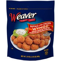 Weaver Fully Cooked Buffalo Style Chicken Wyngz, 24 Ounce