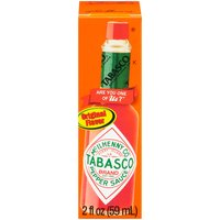 Tabasco Tabasco Pepper Sauce - Original Flavor, 2 Fluid ounce
