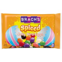 Jelly beans include peppermint, cinnamon, ginger, clove, wintergreen, spearmint and anise flavors.