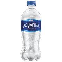 Aquafina Pure Water - Single Bottle, 20 Fluid ounce