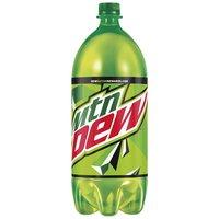 Mountain Dew Mountain Dew Single Bottle - 2 Liter, 67.62 Fluid ounce