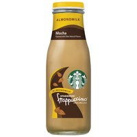 A delicious treat for on the go. Mocha Frappuccino chilled coffee drink is a harmonious blend of Starbucks coffee and creamy milk with chocolaty mocha.