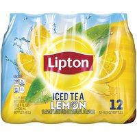 Lipton Iced Tea- Lemon, 202.8 Fluid ounce