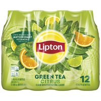 Lipton Iced Tea- Green Tea Citrus, 202.8 Fluid ounce