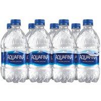 Aquafina Water - 8 Pack Plastic Bottles, 96 Fluid ounce