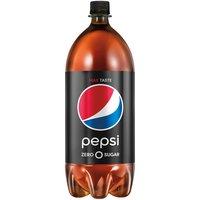 Pepsi Zero Sugar 2 Liter Bottle, 67.62 Fluid ounce