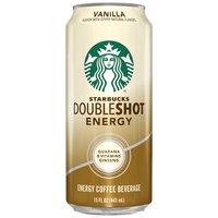 Starbucks Doubleshot Energy Vanilla Energy Coffee Beverage, 15 Fluid ounce