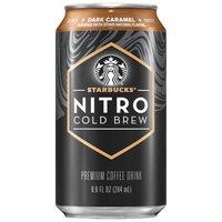 Starbucks Nitro Cold Brew Caramel Coffee Drink, 9.6 Fluid ounce