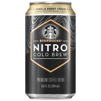Starbucks Nitro Cold Brew Vanilla Coffee Drink, 9.6 Fluid ounce