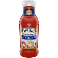 With the highest quality ingredients and ideal blend of spices, Heinz Cocktail Sauce has the premium taste that's the perfect complement for your shrimp.