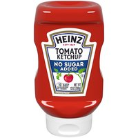 Get the fantastic taste of Heinz ketchup without all of the sugar with Heinz Tomato Ketchup Reduced Sugar, 13 fl oz.