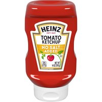 Heinz Heinz No Salt Added Tomato Ketchup, 14 Ounce