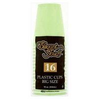 Elegant Touch Amscan Kiwi Plastic Cups, 16 Each