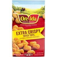 Ore-Ida Ore-Ida Potatoes - Tater Tots Extra Crispy, 28 Ounce