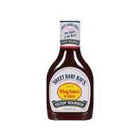 Sweet Baby Ray's Kickin Bourbon Wing Sauce, 16 Fluid ounce