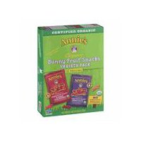 Annie's Homegrown Organic Bunny Fruit Snacks - Variety Pack - 12 CT, 9.6 Ounce