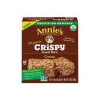 Annie's Homegrown Annie's Homegrown Cocoa Organic Crispy Snack Bars - 5 Count, 3.9 Ounce