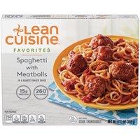 LEAN CUISINE Spaghetti with Meatballs, 9.5 Ounce