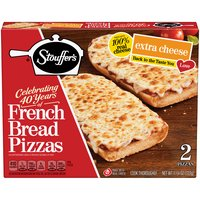 Stouffer's Extra Cheese French Bread Pizza - 2 Count, 11.75 Ounce