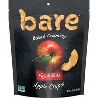 Bare Bare Fuji & Red Apple Chips, 3.4 Ounce