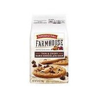 Pepperidge Farm®  Farmhouse Thin & Crispy Dark Chocolate Chip Cookies, 6.9 Ounce