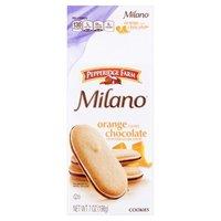 Pepperidge Farm®  Milano® Milano - Orange Flavored Chocolate Cookies, 7 Ounce
