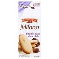 Pepperidge Farm®  Milano® Milano - Double Chocolate Cookies, 7.5 Ounce