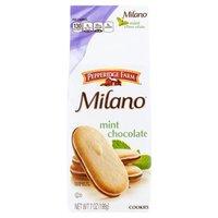 Pepperidge Farm®  Milano® Milano - Mint Chocolate Cookies, 7 Ounce