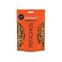 Wonderful Roasted Pistachios, No Shell Chili Roasted, 5.5 Ounce