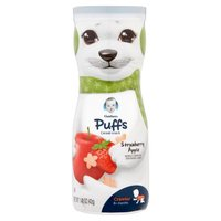 Gerber Gerber Puffs Cereal Snack - Strawberry Apple, 1.48 Ounce