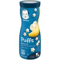 Gerber Gerber Puffs Cereal Snack - Banana, 1.48 Ounce