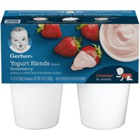 A tasty and nutritious yogurt snack, made with real whole milk and real fruit for growing babies.