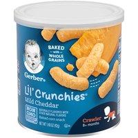 Gerber Lil' Crunchies - Mild Cheddar, 1.48 Ounce