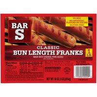 Bar-S Franks - Bun Length, 16 Ounce