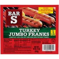 Bar-S Jumbo Turkey Franks, 16 Ounce